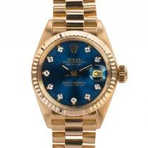 Rolex Datejust Lady 18ktGelbgold Diamond Automatik Armband...