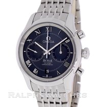 Omega De Ville Co-Axial Chronograph Black SS 431.10.42.51.01.001