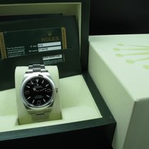 Rolex Explorer 1 214270 Stainless Steel Black Dial Full Set