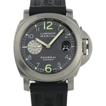 Panerai Luminor Marina Antracite PAM00086 Stainless Steel...