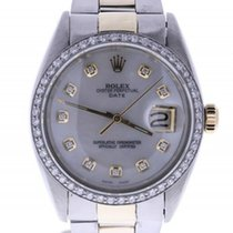 Rolex Date 1501 34 Millimeters Mother-of-pearl Dial