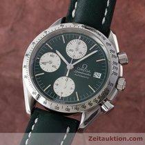 Omega Speedmaster Date Chronograph Automatik Stahl