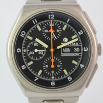 Tutima Military Chronograph 798 - 02 #A3197 TOP Zustand Papiere