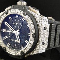 Hublot Mens  Hublot Big Bang King Power Reserve Diamond Watch...