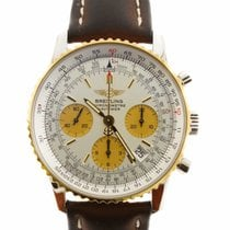 Breitling Navitimer Steel and Gold Watch D2332212 (Pre-Owned)