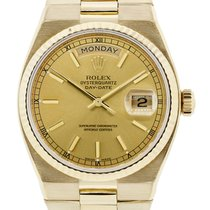 Rolex Day Date 19018 18K  Gold Oysterquartz Watch