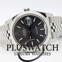 Rolex Datejust Oyster Perpetual 41mm Grey Dial Jubilee
