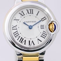 Cartier Ballon bleu Lady Gold/Stahl white Dial Quarz Klassiker...