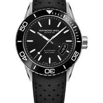 Raymond Weil Freeelancer Diver Rubber Strap Mens Watch...