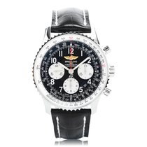 Breitling Navitimer 01 Black Automatic Mens Watch AB012012/BB0...