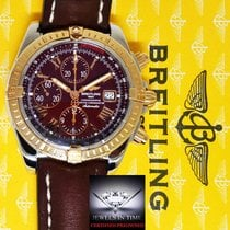 Breitling Chronomat Evolution 18k Rose Gold & Steel...