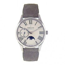 Zenith Elite Ultra Thin Stainless Steel Automatic Men's...