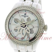 Perrelet Diamond Flower, Mother of Pearl Diamond Dial, Diamond...