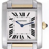 Cartier Tank Francaise Men's/Ladies Midsize 2-Tone Steel...