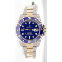 Rolex Submariner 116613 Heavy Band Blue Cerachrom Bezel Blue...