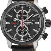 Seiko Classic SNAF47P2 Herrenchronograph Klassisch schlicht