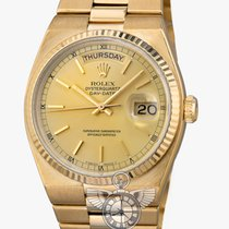 Rolex Oyster Quartz Day-Date Champagne Dial