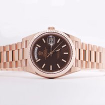 Rolex Day Date 40mm Chocolate 228235