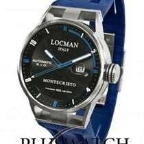 Locman Montecristo Titanium/Steel Automatic Blue 44mm