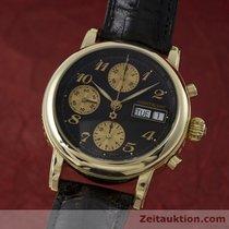 Montblanc 18k Gold Meisterstück Chronograph Automatik 7000 Herren