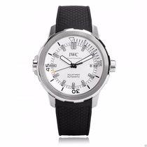 IWC IW329003 Aquatimer Automatic 42mm Silver Dial Black Rubber