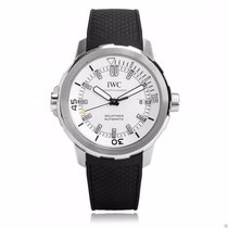 IWC IW329003 Aquatimer Automatic 42mm Silver Dial Black Rubber