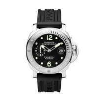Panerai Luminor Submersible Automatic Acciaio  Mens Watch...