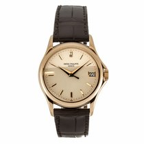 Patek Philippe Calatrava 18K Rose Gold Watch 5127J-001...