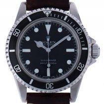 Rolex Submariner No Date Maxi Dial Edelstahl Automatik Armband...