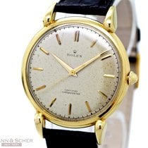 Rolex Vintage Jumbo CHRONOMETER Gentleman Watch Ref-4364 18k...