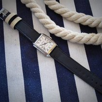 HANDMADE NEW - Strap -  leather- Navy Blue, Marine -- 18/16 new