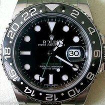 Ρολεξ (Rolex) Gmt Ii Stainless Steel Black On Black Ceramic...