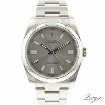Rolex Oyster Perpetual 36 Steel Silver