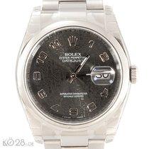 Rolex Datejust 116200  Silver Arab Dial Unworn B+P 08/2017 LC100