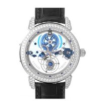 Ulysse Nardin 799-83 Royal Blue Tourbillon in Platinum with...