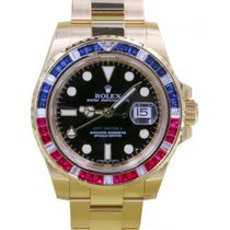 Ρολεξ (Rolex) GMT Master II 116748SARU Ruby Sapphire Diamond...