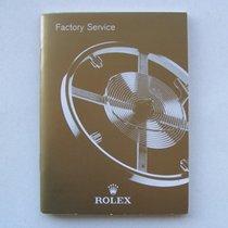 "Rolex Libretto / Booklet ""Factory Service"" U.S.A."