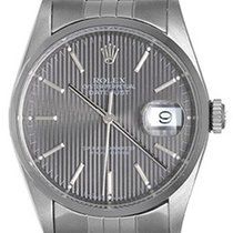 Rolex Datejust Men's Steel Automatic Watch 16200 Gray Dial