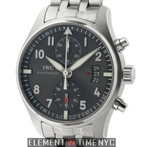IWC Pilot Collection Pilot Spitfire Chronograph Steel 43mm...