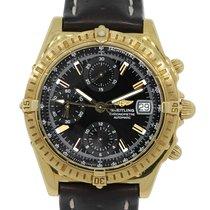 브라이틀링 (Breitling) K13352 Windrider Chronograph 18k  Gold Watch