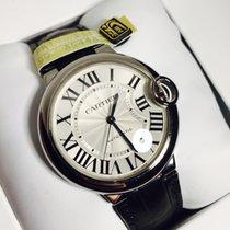 Cartier Ballon Bleu automatic 36mm leather New W69017Z4