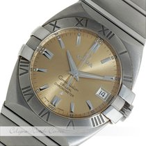 Omega Constellation Co-Axial Stahl Automatik 38 mm