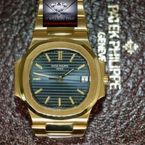 Patek Philippe Nautilus 3800J 18k Gold Automatic Mens Watch...