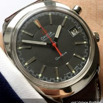 Omega Chronostop Geneve with grey dial