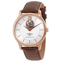 Tissot T-Classic Tradition Silver Dial Automatic Men's Watch
