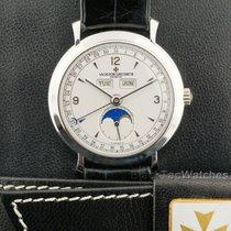 Vacheron Constantin Malte Dual Triple Date Moon Calendar Platinum
