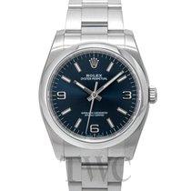 Rolex Oyster Perpetual Blue/Steel Ø36 mm - 116000