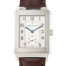 Jaeger-LeCoultre Reverso Stainless Steel Silvery White...