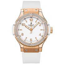 Hublot Big Bang Rose Gold White Diamond 38 mm