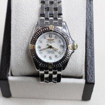 Breitling Callistino B72345 18k Yellow Gold & Stainless...